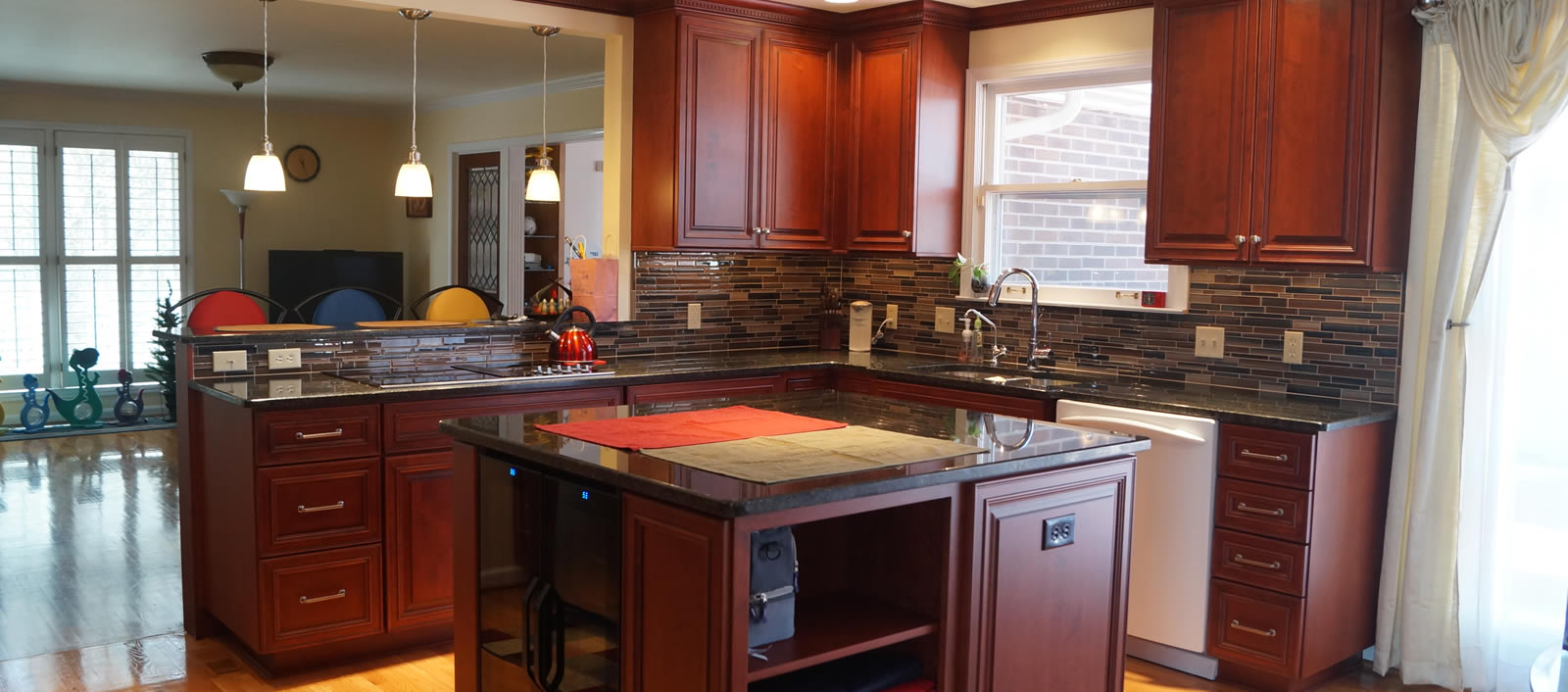 Custom designed kitchen and bathrooms in Nashville